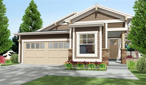 narrow beds narrow lot craftsman with 2 beds 64411sc architectural