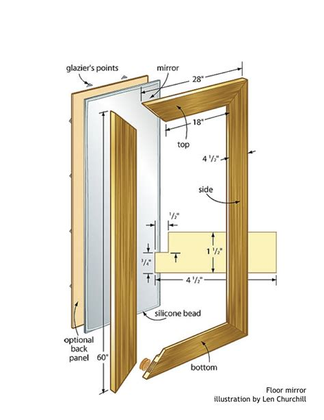 woodworking picture frame plans floor mirror woodworking plans woodshop plans