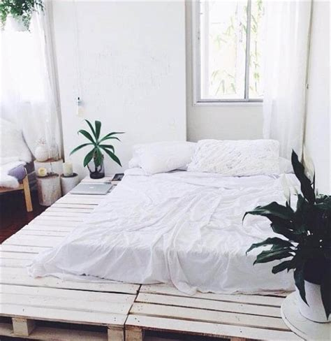 white shabby chic beds 42 diy recycled pallet bed frame designs