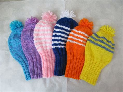 golf covers knit golf club covers knitted things to do golf
