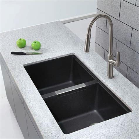 black undermount kitchen sinks best 25 black kitchen sinks ideas on black