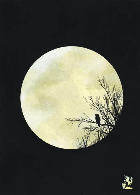 acrylic painting moon hubert cance moon painting acrylic artwork