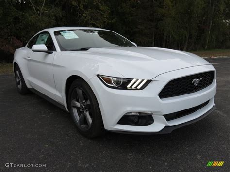 White Ford by 2016 Oxford White Ford Mustang V6 Coupe 108755079 Photo