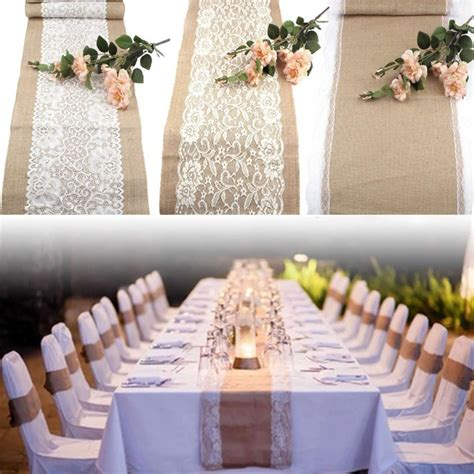 Baby Shower Sashes by Aliexpress Com Buy 10pcs Wedding Table Runners Vintage