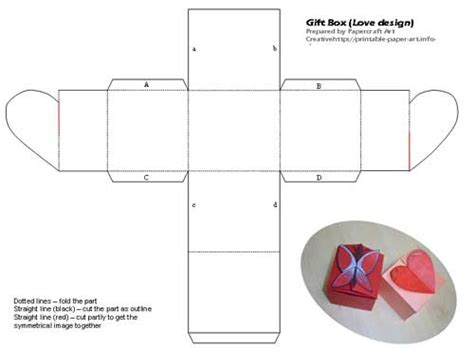 origami boxes with lids templates small box printable 2011 calendar indesign printable form
