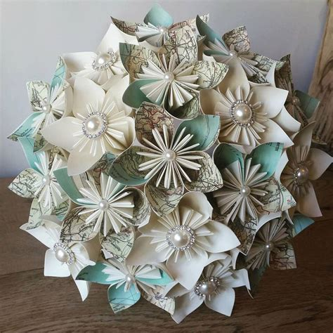 vintage origami paper 17 best ideas about paper wedding bouquets on