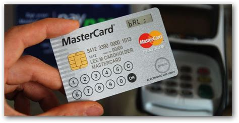 how to make smart card new smart credit cards comes with display and touchscreen