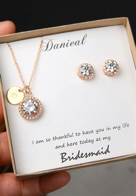 gift necklace 25 best ideas about bridesmaid gift boxes on
