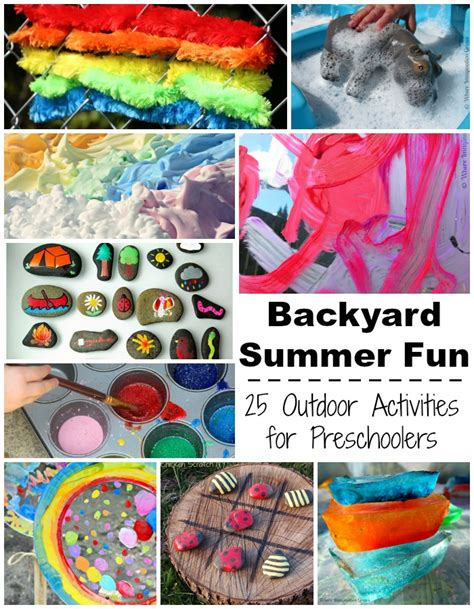 projects toddlers summer c at home 25 backyard activities