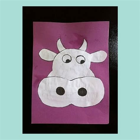cow crafts for cow craft for preschoolers trisha dishes