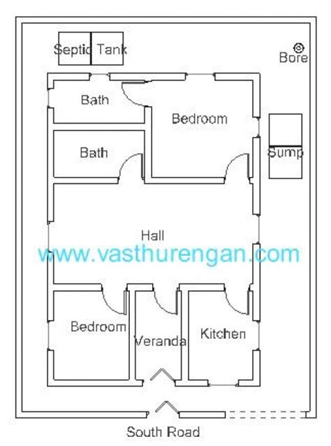 south facing house vastu plan vastu plan for south facing plot 3 vasthurengan