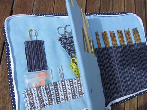 zippered knitting needle shops cas and ideas on