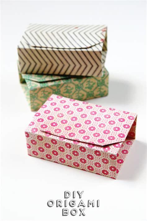 origami box rectangle rectangular diy origami boxes gathering