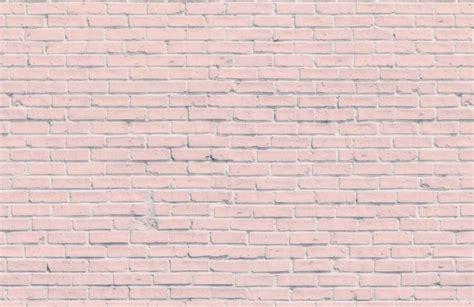 White Brick Wall Mural pink brick wall mural murals wallpaper