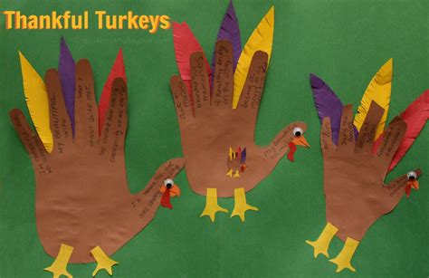 thanksgiving arts and crafts ideas for thankful turkeys thanksgiving craft for families