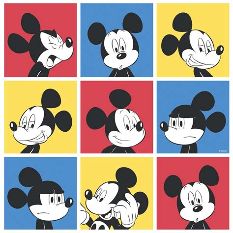 disney mickey new official disney mickey mouse pop pattern