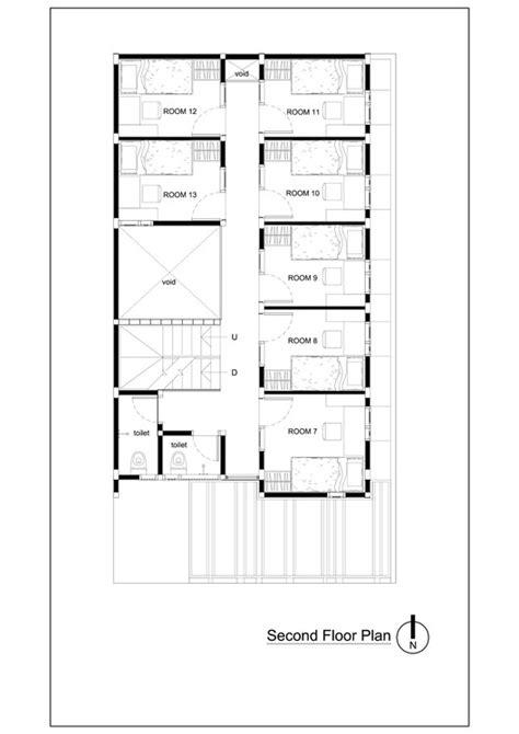 boarding house floor plan bioclimatic and biophilic boarding house andyrahman