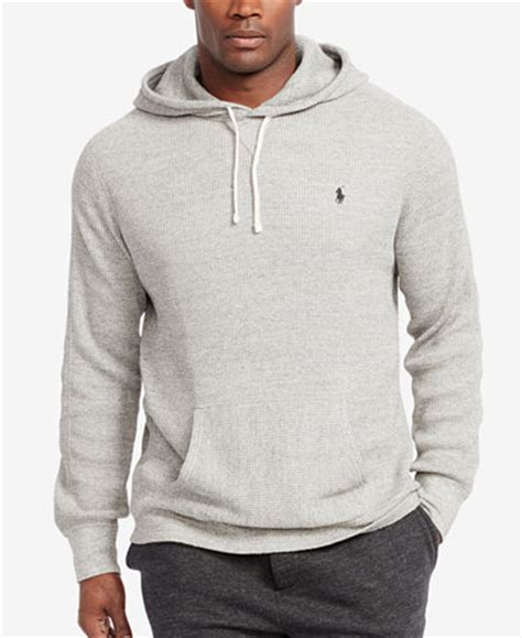 ralph waffle knit hoodie polo ralph s waffle knit hoodie sweaters