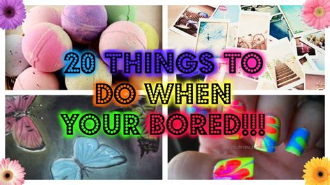 crafts to do when bored for 20 things to do when your bored