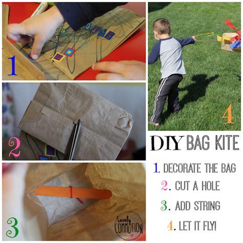 paper bag kite craft 5 fingerplays laptime songs