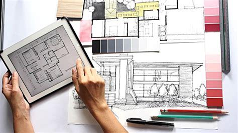 interior designer architect architect interior designer working stock footage