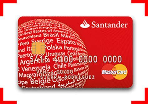 numero gratuito banco santander tarjetas cr 233 dito santander tarjetas de credito