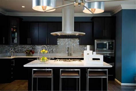 kitchen black cabinets 15 contemporary kitchen with black cabinets rilane