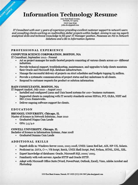 resume for lecturer in computer science bongdaao com