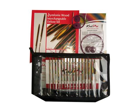 knit pro knit pro interchangeable needles deluxe kit the woven