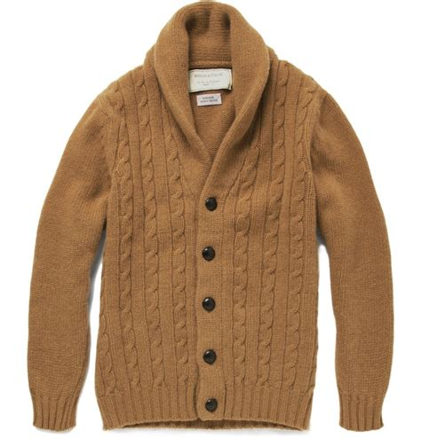 how to knit collar on sweater shawl collar cable knit sweater sweater jacket