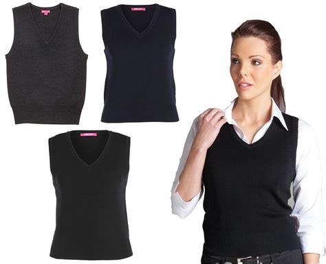knit vest womens knitted vest jb s wear 6v1 womens v neck knit