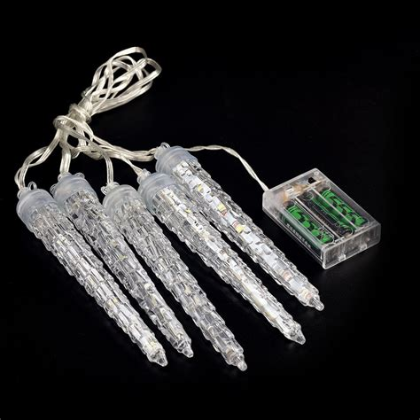 chasing icicle lights 2017 ornaments led icicle meteor light chasing