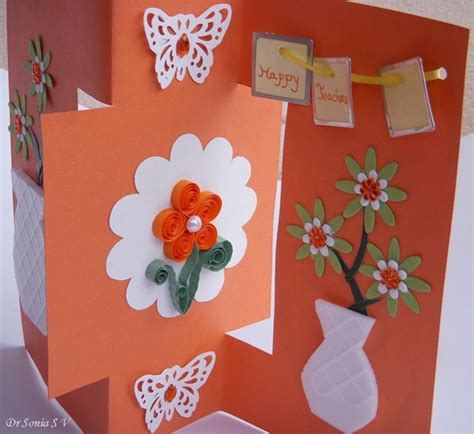craft card cards crafts projects teachers day card recycled