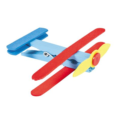aeroplane craft for clothespin airplane craft kit trading