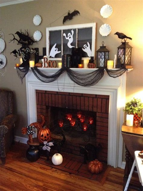 easy mantel decorations best 25 mantel ideas on spooky