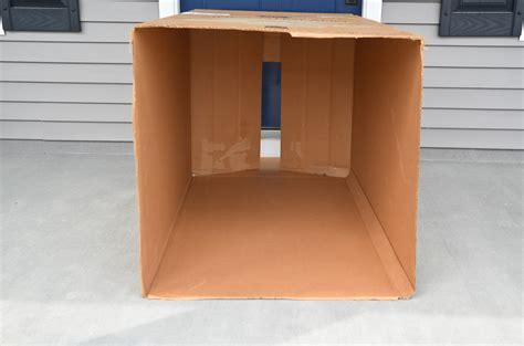 how to make a card board box diy cardboard box playhouse project nursery