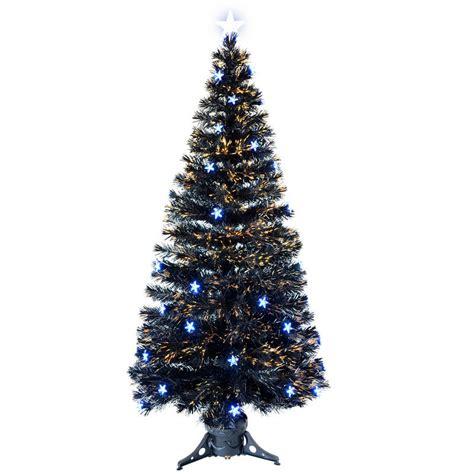 6ft black fibre optic tree 6ft 180cm beautiful black fibre optic tree with