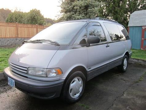 how to sell used cars 1995 toyota previa spare parts catalogs find used toyota cer van 1995 previa awd supercharged in happy valley oregon united states