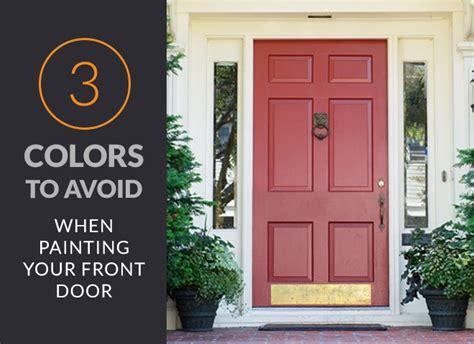 painting the front door of your house front door colors