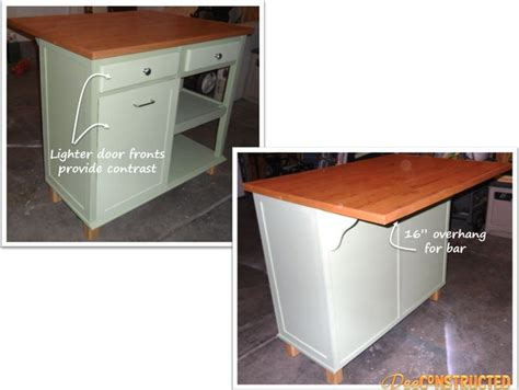 diy kitchen desk kitchen island tutorial repurpose desk or dresser into