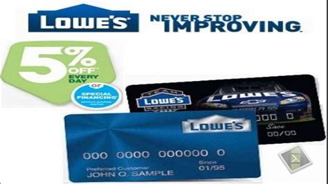 make a lowes credit card payment lowes credit card a great deal