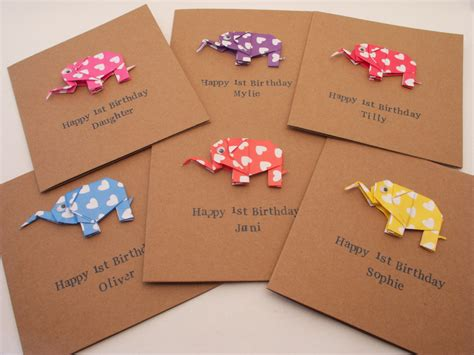 how to make origami birthday cards card invitation sles a new baby boy or baby card