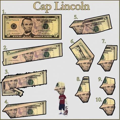 5 dollar origami make abe lincoln look like a b boy 5 dollar bill origami