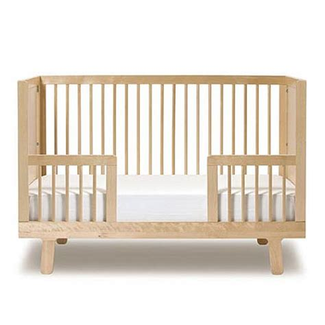 baby toddler bed sparrow crib toddler bed conversion kit in birch and