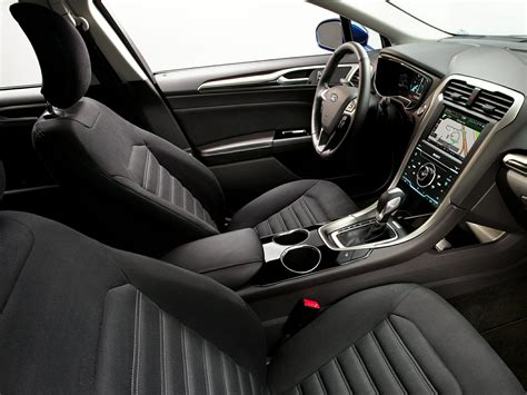 2014 Ford Fusion Interior by 2014 Ford Fusion Hybrid Price Photos Reviews Features