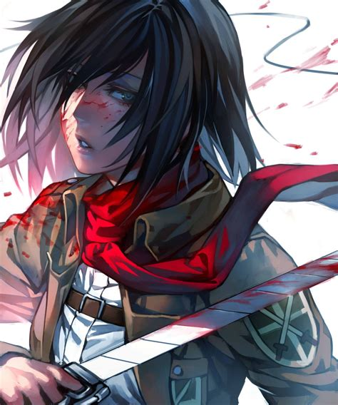 mikasa ackerman mikasa ackerman shingeki no kyojin attack on titan fan