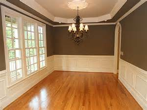 dining room wainscoting ideas chocolate walls and wainscoting dining room remodeling