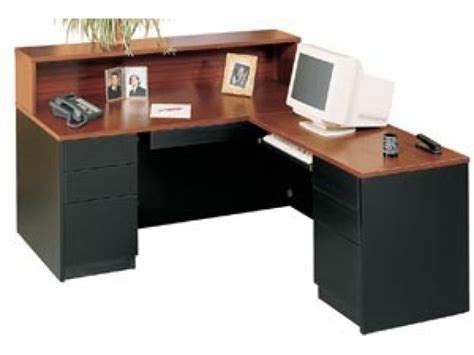 l shaped receptionist desk l shaped receptionist desk mayline mrsrbf mira l shaped
