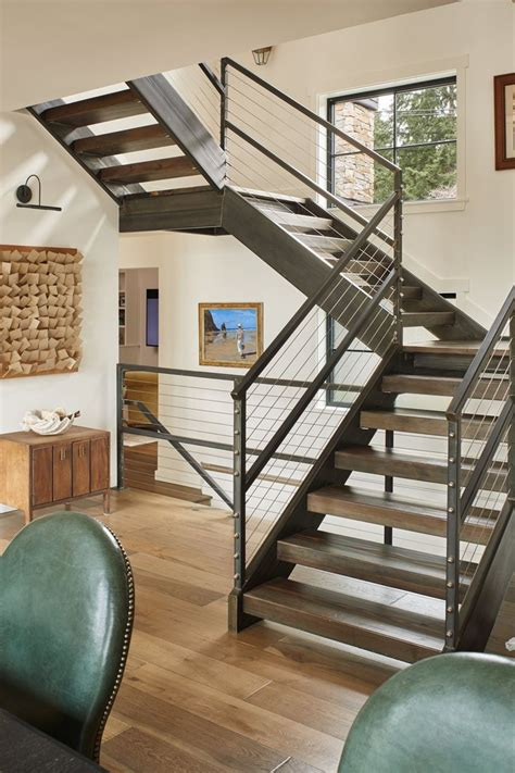 staircase ideas best 25 open staircase ideas on steel railing