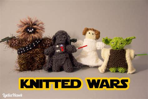 Knitted Wars Lydia Hawk Designs